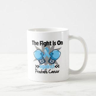 La lucha está encendido contra cáncer de próstata taza de café