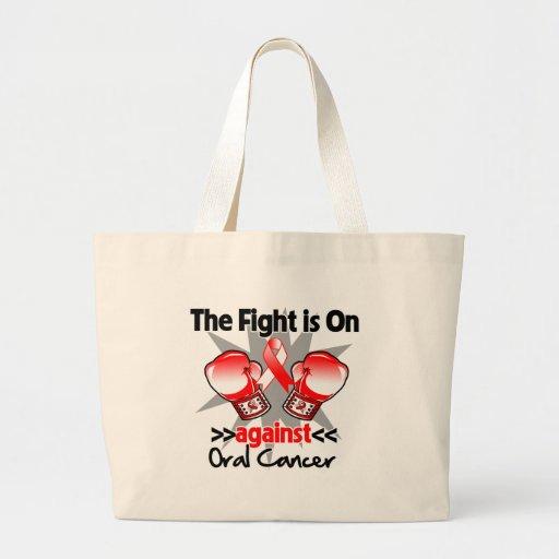 La lucha está encendido contra cáncer oral bolsa