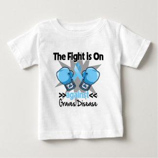 La lucha está encendido contra enfermedad de playera de bebé
