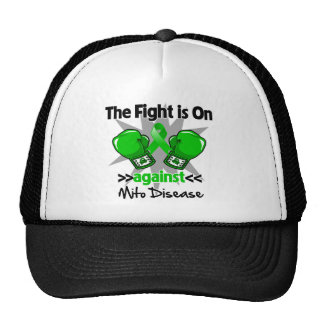 La lucha está encendido contra enfermedad gorros
