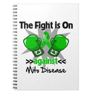 La lucha está encendido contra enfermedad note book