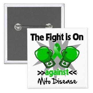 La lucha está encendido contra enfermedad pin cuadrado