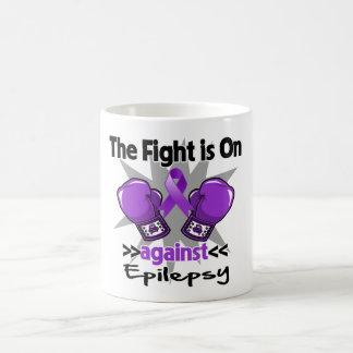 La lucha está encendido contra epilepsia taza