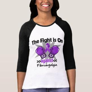 La lucha está encendido contra Fibromyalgia Playera