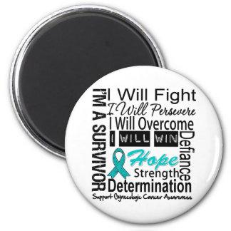 La lucha ginecológica del cáncer persevera triunfo iman