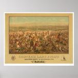 La lucha pasada de Custer (2610A) Impresiones