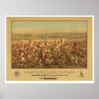 La lucha pasada de Custer 2610A Impresiones