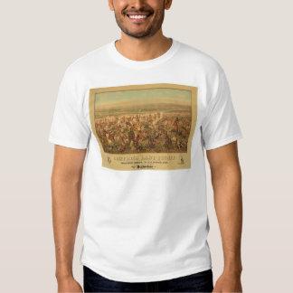 La lucha pasada de Custer (2610A) Remeras