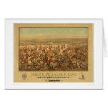 La lucha pasada de Custer (2610A) Tarjeta De Felicitación