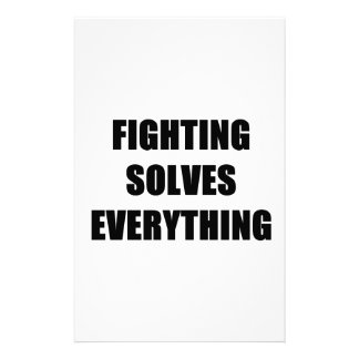 La lucha soluciona todo papeleria personalizada