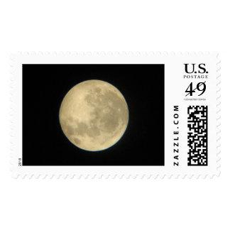 La luna a través de un telescopio 2006 sellos postales