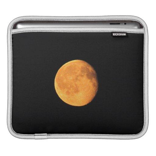 La luna amarilla grande; Ningún texto Mangas De iPad