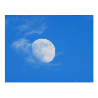 La Luna Azul  Postcard