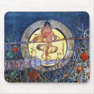 La luna de cosecha - Charles Rennie Mackintosh Alfombrilla De Raton