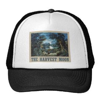 La luna de cosecha gorras de camionero