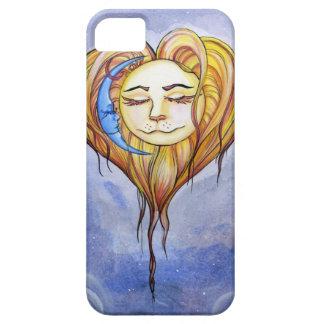 La Luna de El Amor del Sol y iPhone 5 Cárcasas