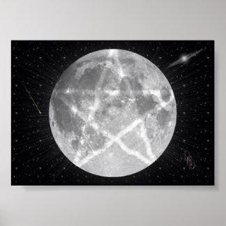 La luna de la bruja impresiones