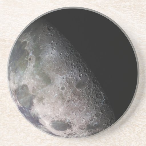 La luna de la tierra posavasos cerveza