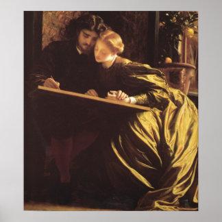 La luna de miel de los pintores impresiones