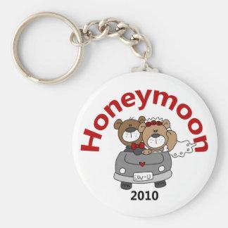 La luna de miel lleva 2010 llavero redondo tipo pin