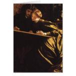 La luna de miel por Leighton, arte del pintor del Felicitación