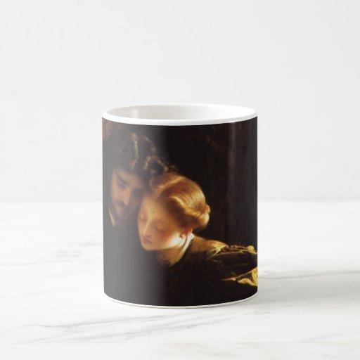 La luna de miel por Leighton, arte del pintor del Tazas