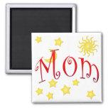 La luna de Sun protagoniza el regalo del día de ma Iman De Frigorífico