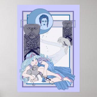 La luna de Tarot Póster
