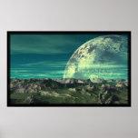 La luna del hielo de Velloria Poster