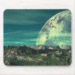 La luna del hielo de Velloria Tapetes De Ratones