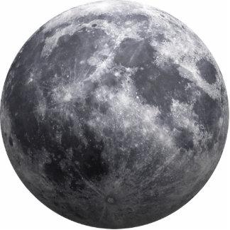 La luna - efecto 3D Fotoescultura Vertical