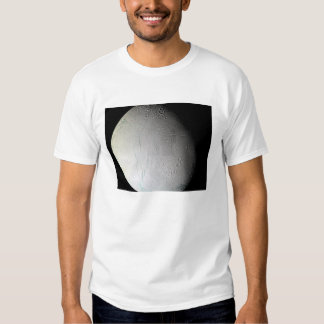 La luna Enceladus 3 de Saturn Playera