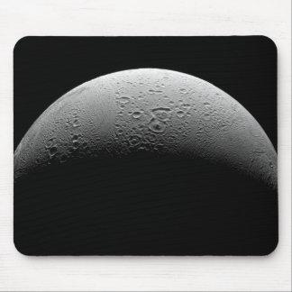 La luna Enceladus 5 de Saturn Alfombrilla De Ratones