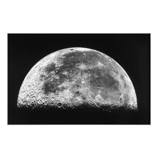 La luna impresiones fotográficas