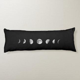 La luna fresca organiza la almohada del cuerpo cojin cama