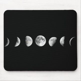 La luna fresca organiza Mousepad Tapetes De Ratón