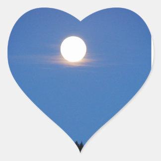 La Luna Heart Sticker