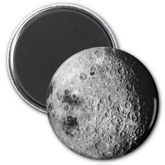 La luna imán redondo 5 cm