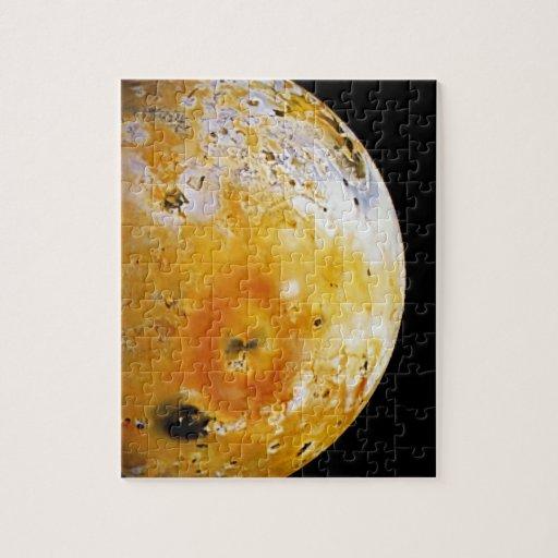 La luna Io de Júpiter Puzzle
