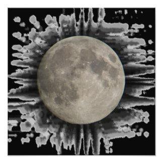 La luna, la lune, la luna, pósteres the moon fotografía