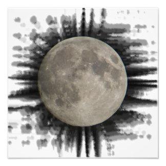 La luna la lune la luna pósteres the moon cojinete