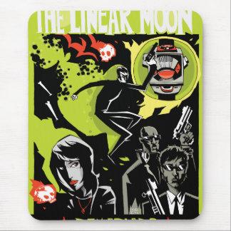 La luna linear Mousepad