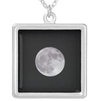 La Luna Llena Colgante Cuadrado