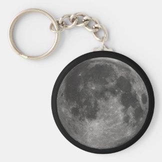 La Luna Llena de la tierra Llaveros