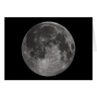 La Luna Llena de la tierra Felicitación