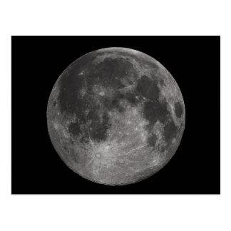 La Luna Llena de la tierra Tarjetas Postales