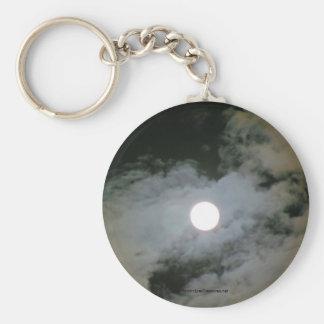 La Luna Llena se nubla el llavero del llavero de l