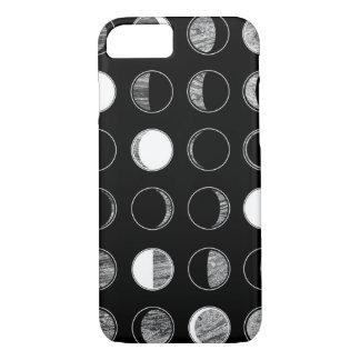 La luna organiza la caja del teléfono funda iPhone 7