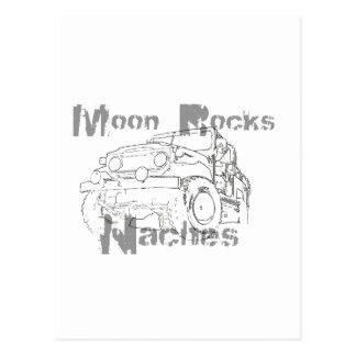 La luna oscila Naches Postal