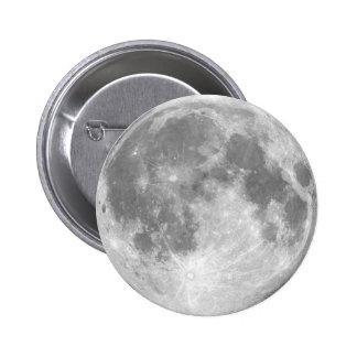 La luna pin redondo 5 cm